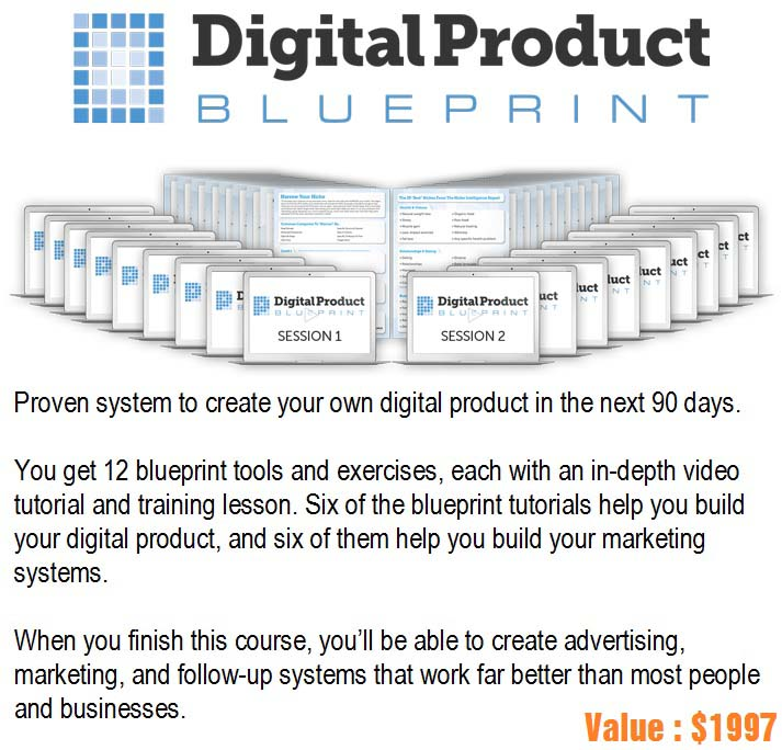 Digital Product Blueprint