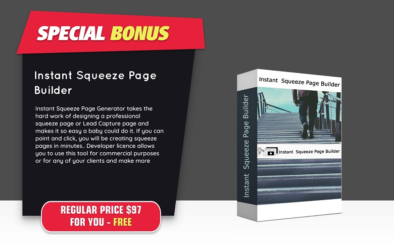 Instant Squeeze Page Builder