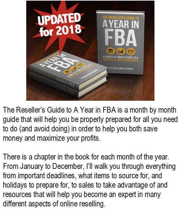 The Reseller's Guide to a Year in FBA
