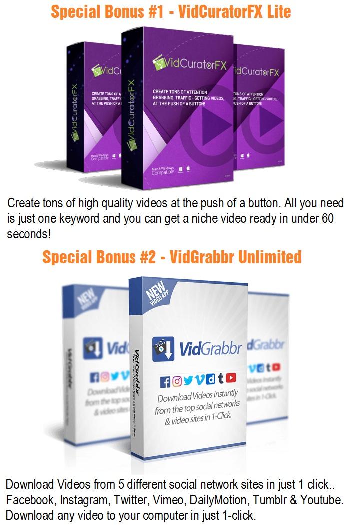 VideoCrate Bonus