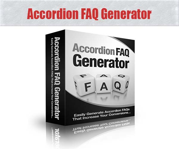 accordion faq generator