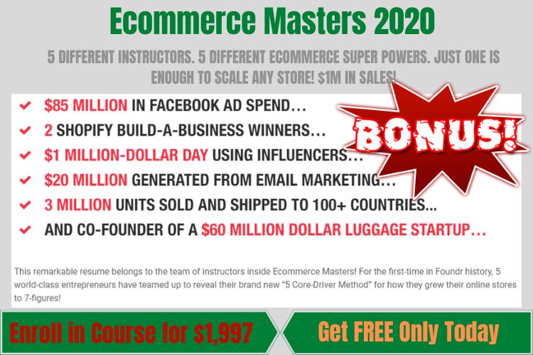 Ecommerce Masters 2020