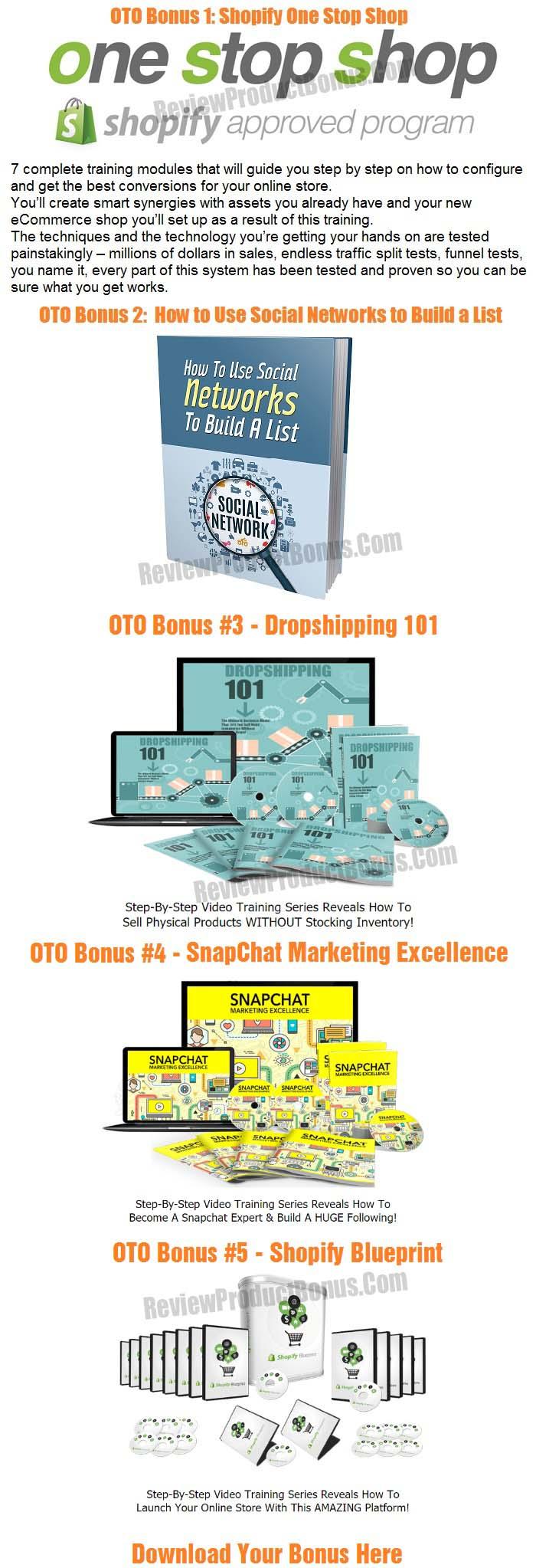 Snapify Bonus OTO