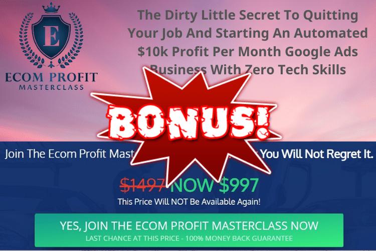 eCom Profits Masterclass