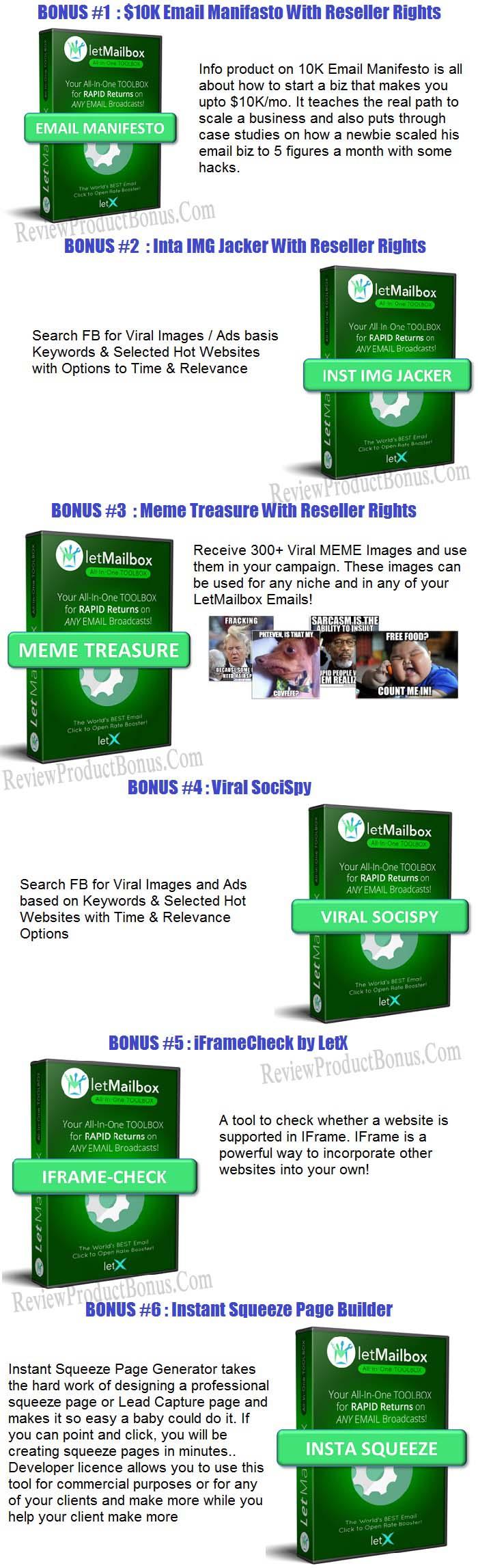 LetMailBox Bonus