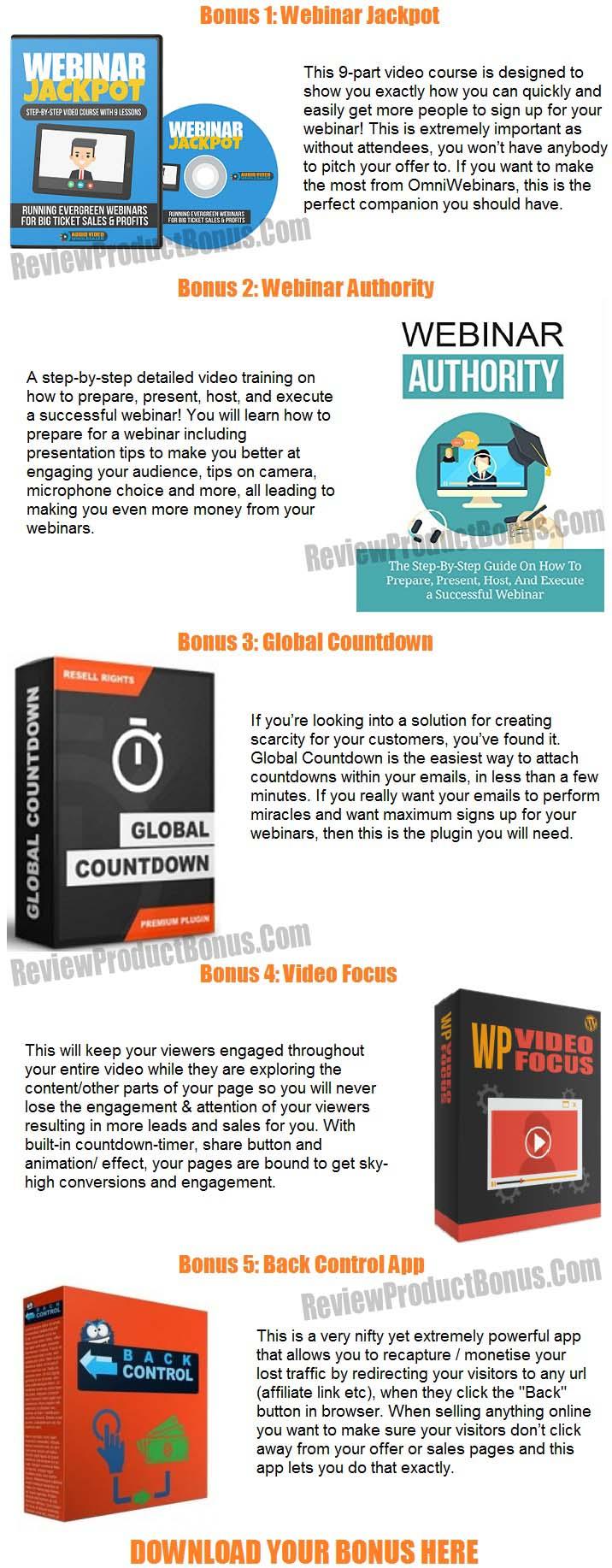 Omniwebinars Bonus