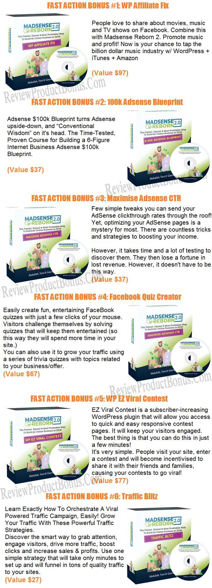 Madsense Reborn 2.0 Bonus