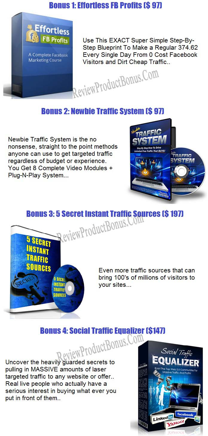 Push Button Traffic 3.0 Bonus