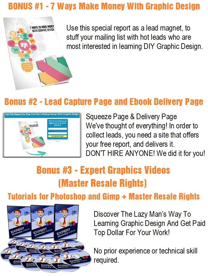 Graphic Design Academy Bonus