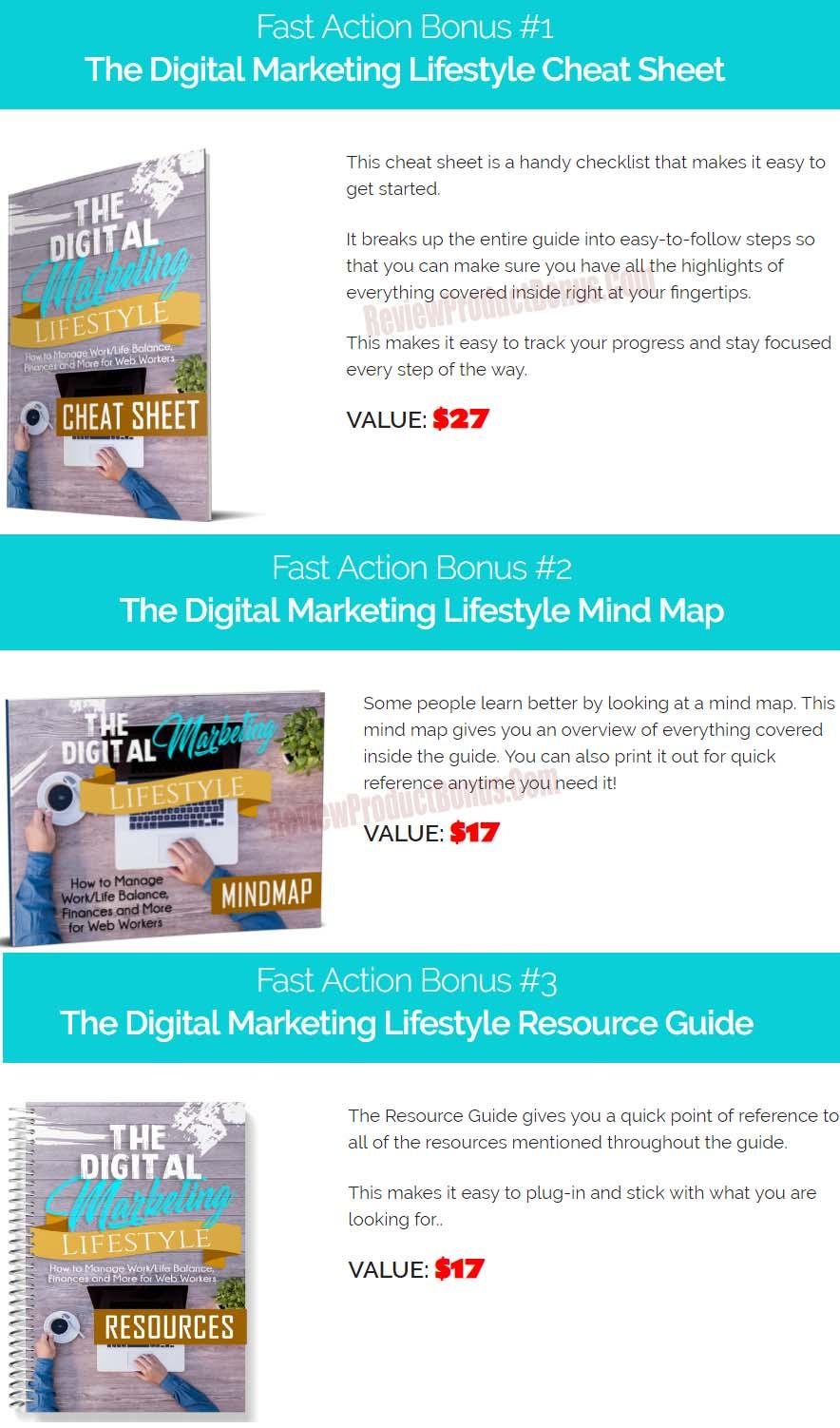 Digital Marketing Lifestyle Bonus
