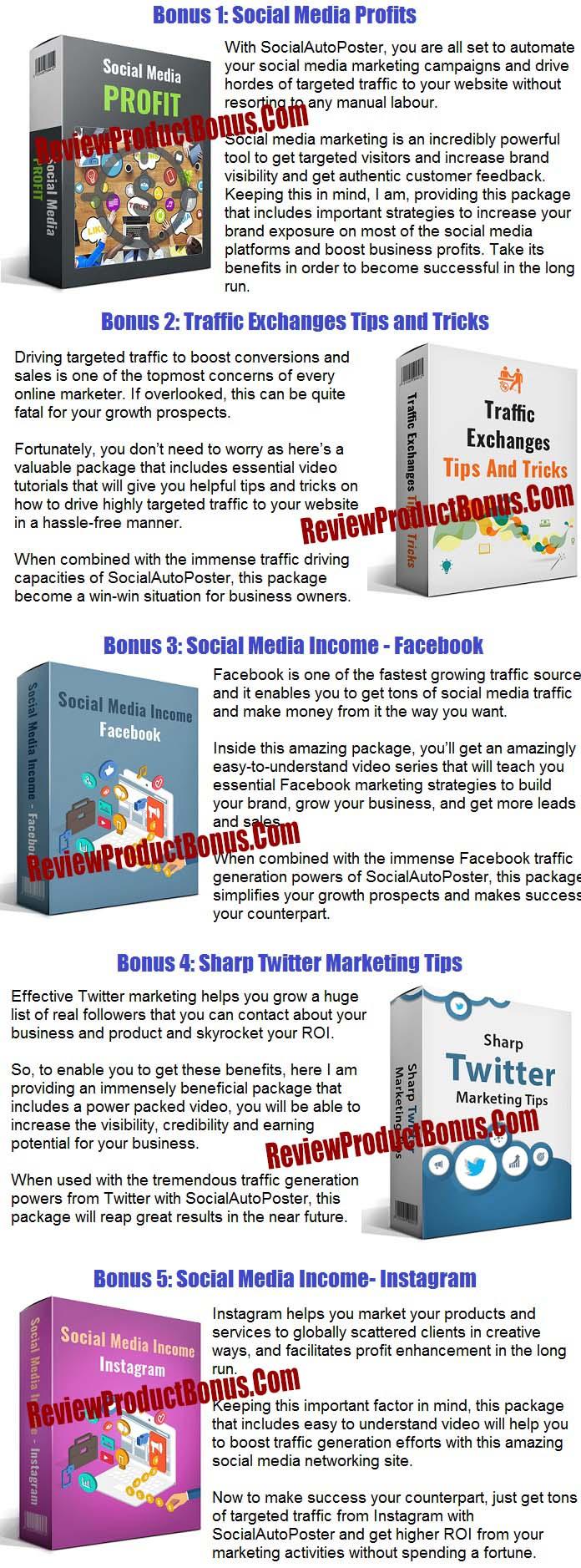 Social Auto Poster Bonus