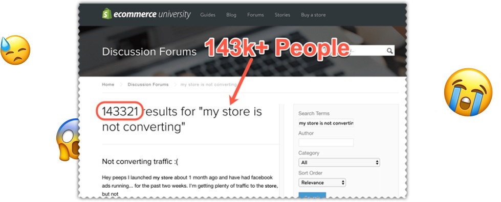 Why fail in eCommerce