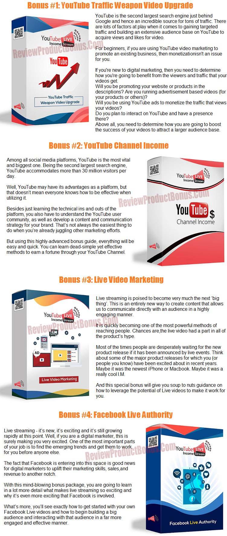 YouTube Live Income Stream With PLR Bonus