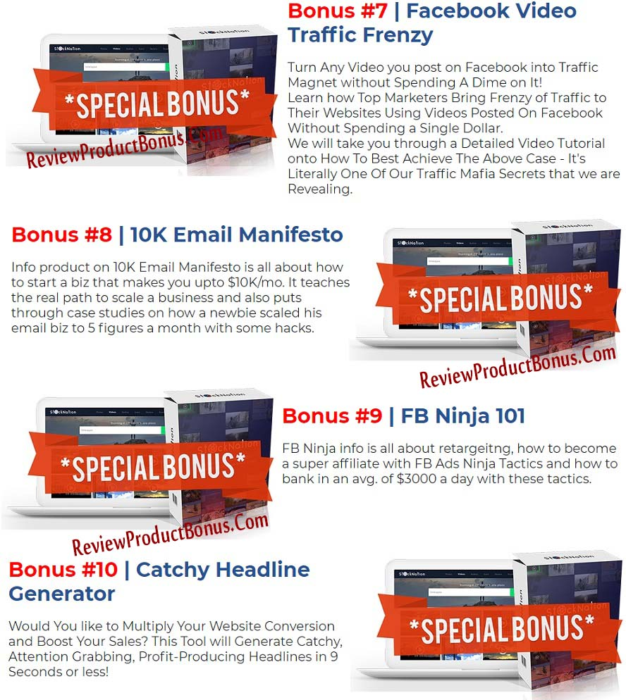StockNation Bonuses