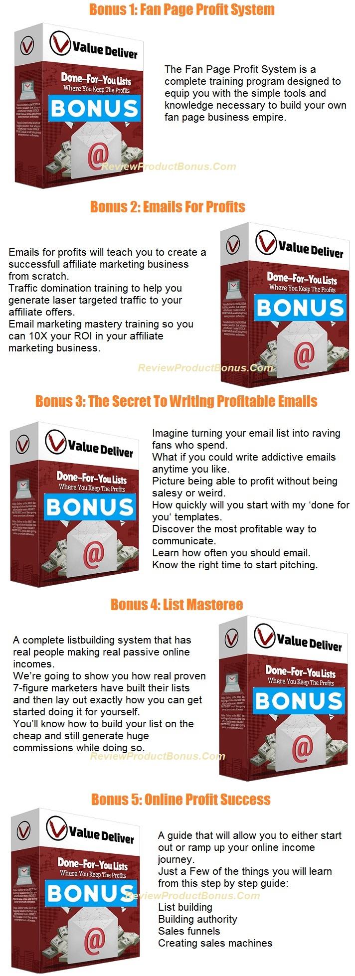 Value Deliver Bonus