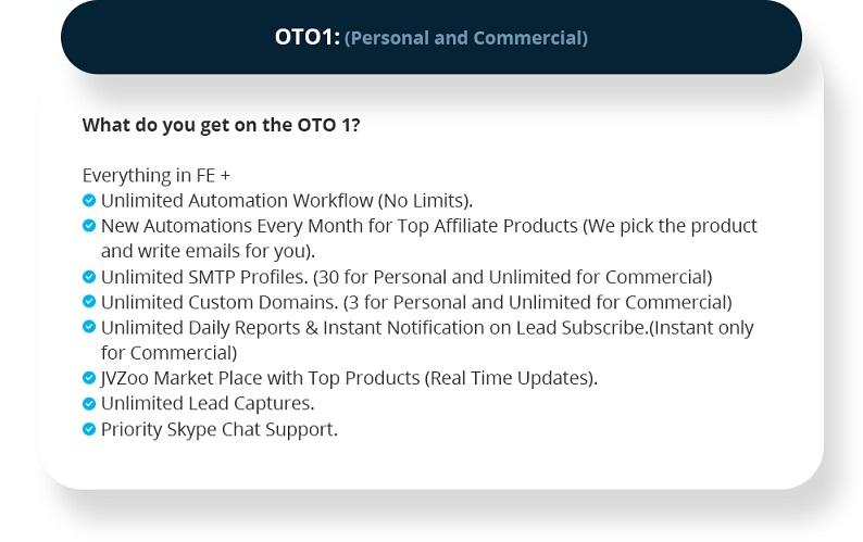 Leads Profiter OTO1