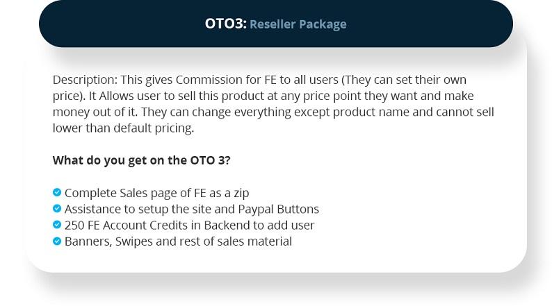 Leads Profiter OTO3