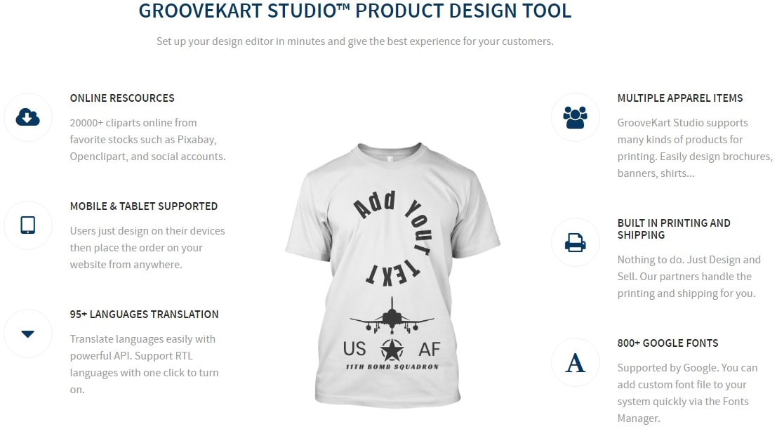 GrooveKart Design Features