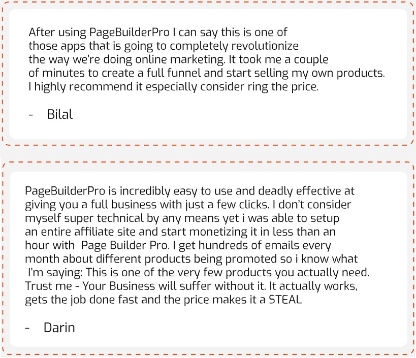 PageBuilder Pro Testimonial