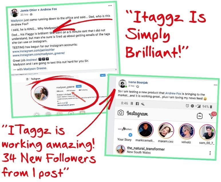 ITaggz Proofs