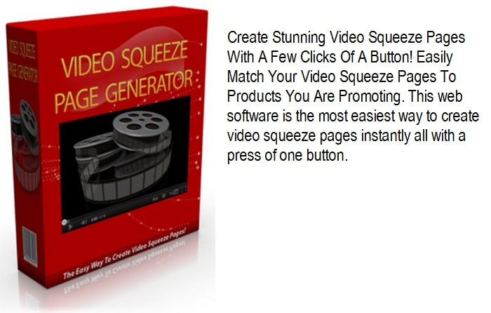 Video Squeeze Page Generator