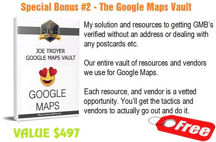 Google Maps Vault
