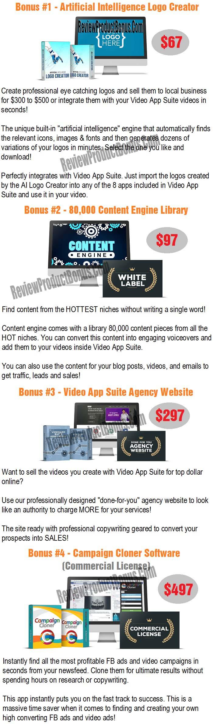 Video App Suite Bonus