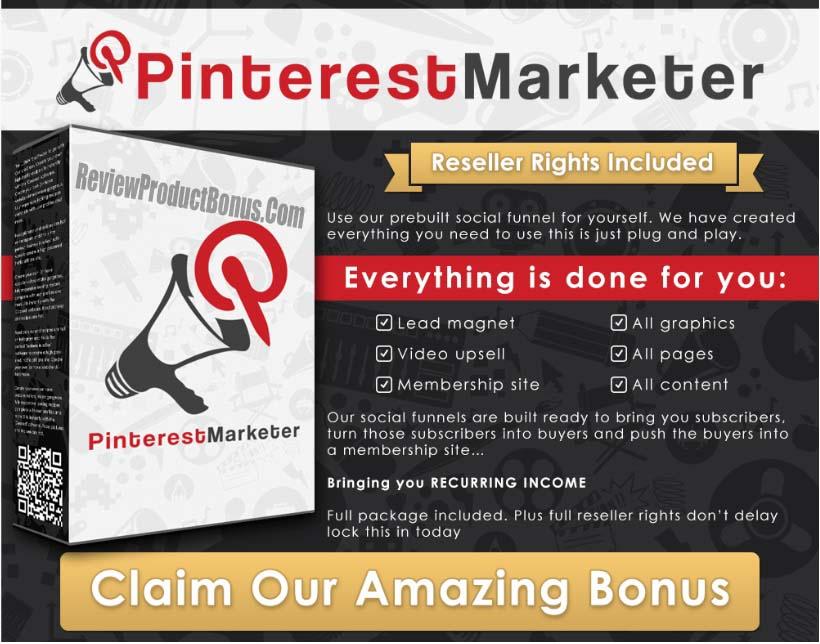 FunnelsKit - Pinterest Marketer