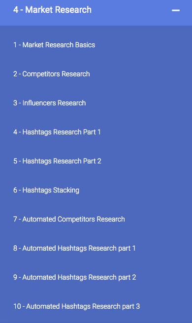Instagram 6-Figure Profit Machines Dashboard - Module 4