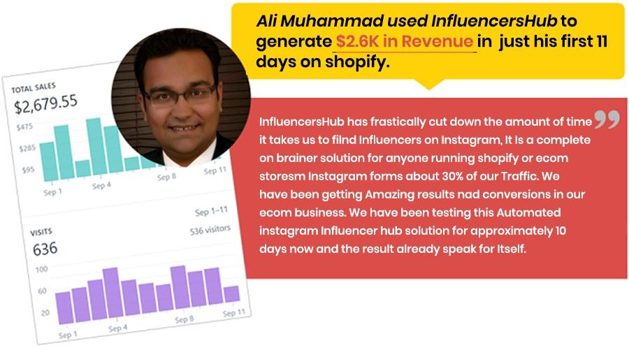 Influencers Hub Proof 1