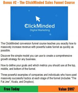 ClickMinded Sales Funnel Course