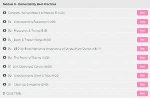 eCom Email Academy Module 5
