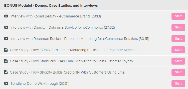 eCom Email Academy Bonus Jimmy