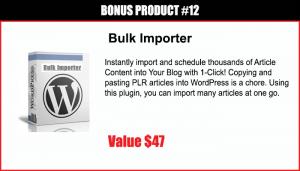 Bulk Importer