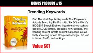 Trending Keywords