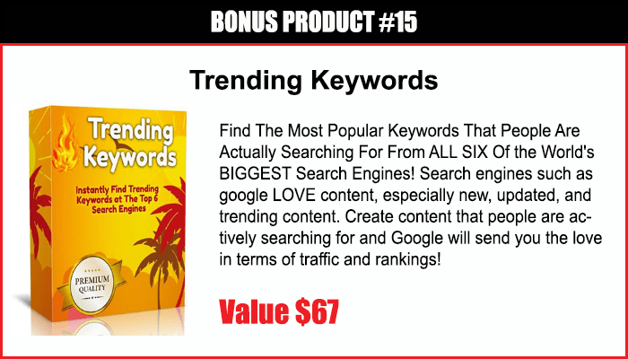 Trending Keywords