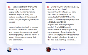 WebSuitePro Testimonials