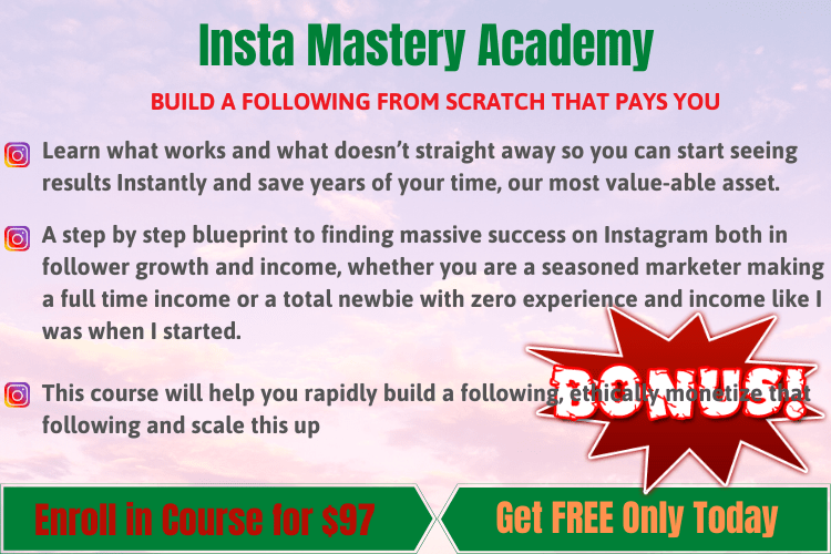 Insta Mastery Academy