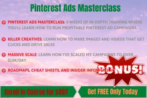 Pinterest Ads Masterclass