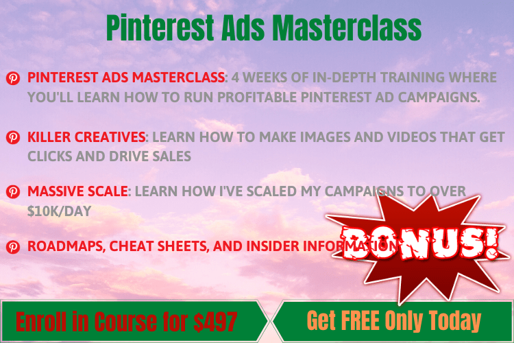 Pinterest Ads Masterclass