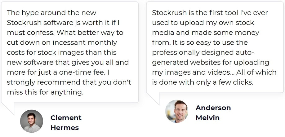StockRush Testimonials