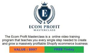 Ecom Profit Masterclass