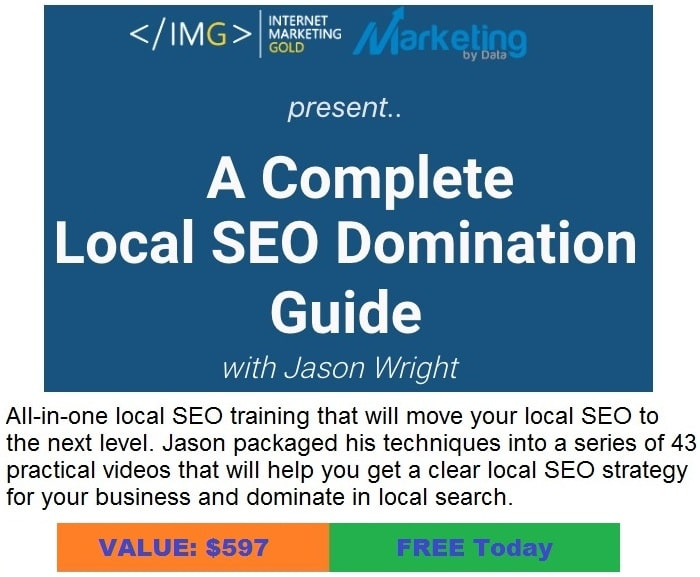 Local SEO Domination 2020