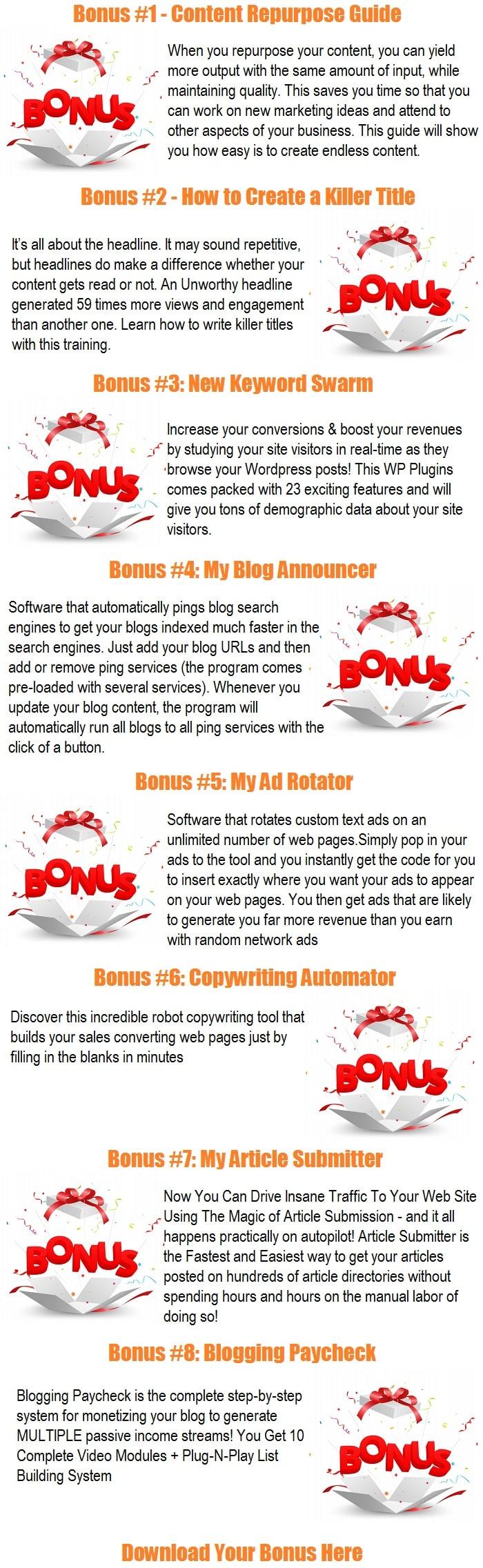 Content Gorilla 2.0 Bonus