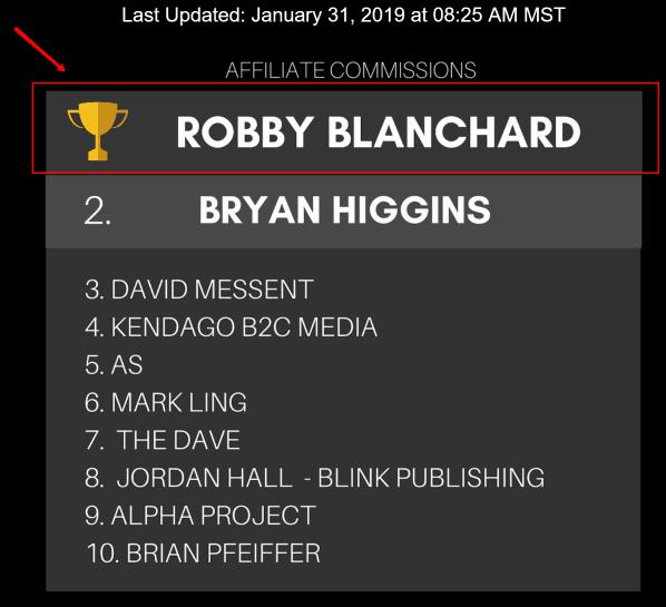 Robby Blanchard Clickbank