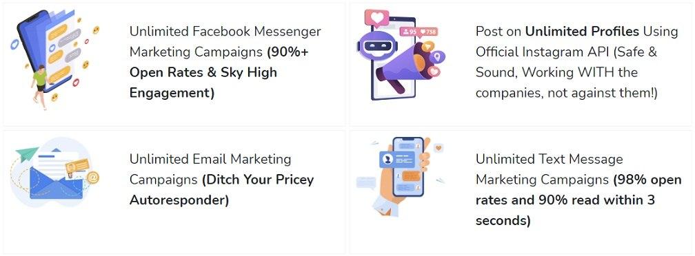 SendSnap Benefits