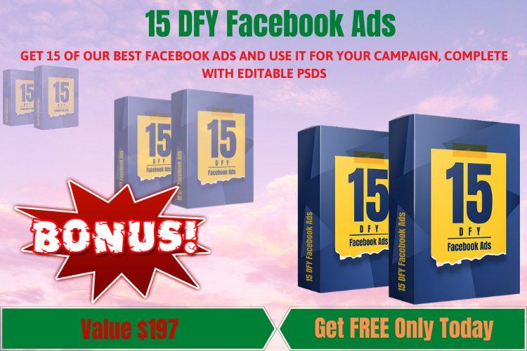15 DFY Facebook Ads