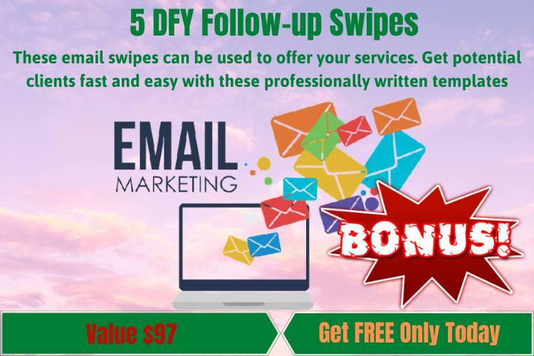 5 DFY Follow-up Swipes