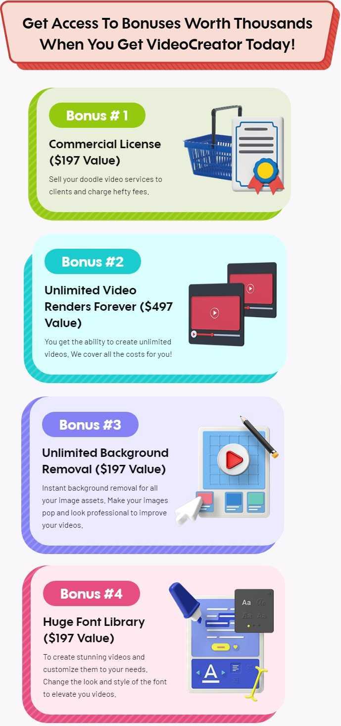VideoCreator Bonus