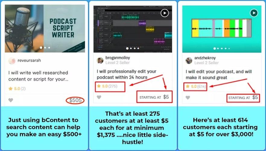 bCast Suite Benefit